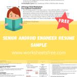 Senior Android Engineer Resume Sample