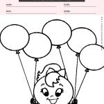 Shapes Coloring Page - shapes circle