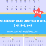 Spaceship Math Addition M