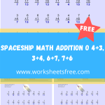Spaceship Math Addition O