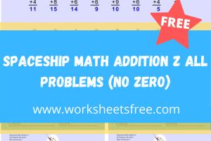Spaceship Math Addition Z
