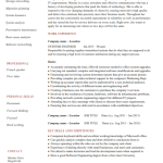 System Engineer Resume Example 4