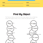 Transitive Verbs - Find my Object