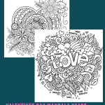 Valentines Day Mandala Heart Coloring Page for Adults - Valentine's Day Mandala Heart Coloring Page for Adults is a very popular coloring page