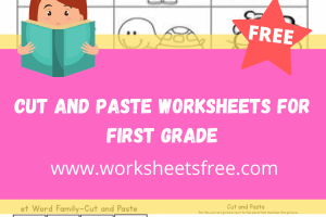 cut and paste worksheets for first grade