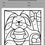 easter worksheets for first grade 3