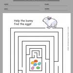 easter worksheets for first grade 4