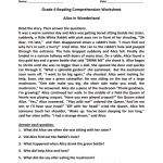 grade 4 reading comprehension worksheets pdf1