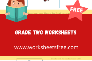 grade two worksheets