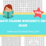 math coloring worksheets 2nd grade