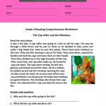 reading comprehension worksheets for grade 3 pdf 3