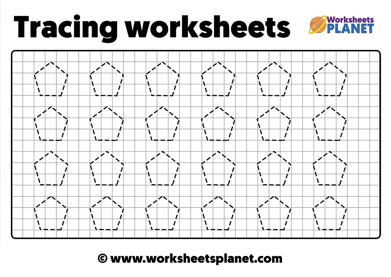 Prewriting Skills Worksheets For Kids