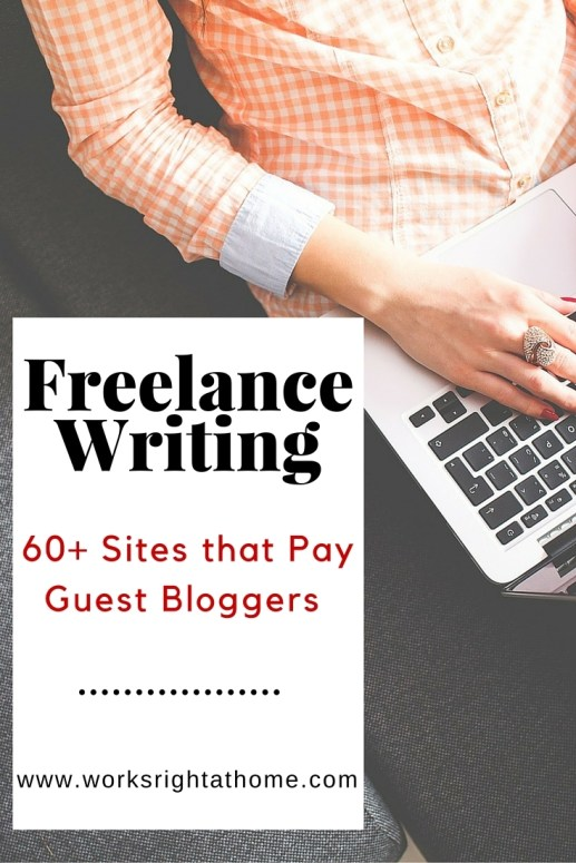 Sites that Pay Guest Bloggers
