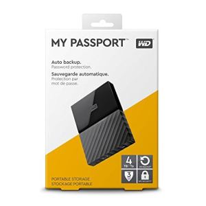 WD My Passport 4 To Noir (USB 3.0) (WDBYFT0040BBK