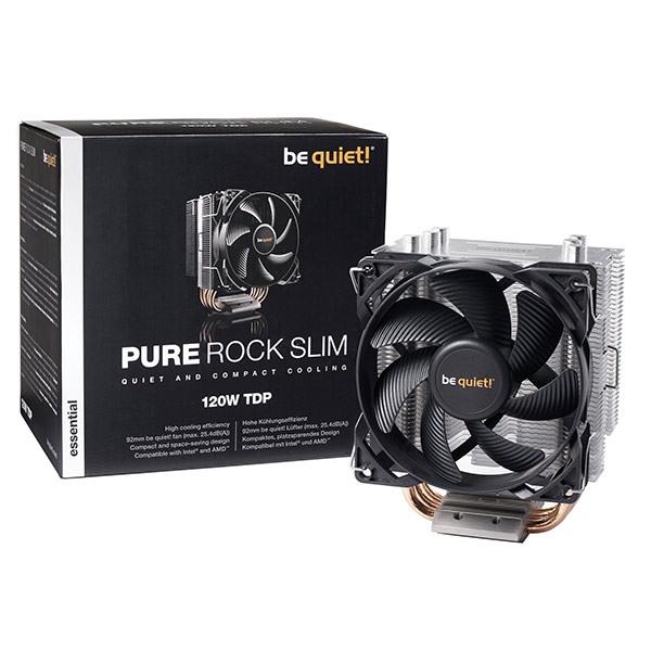 Pure Rock Slim BK008 be quiet! Ventilateur de processeur pc gamer