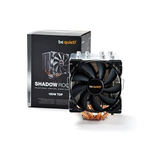 SHADOW ROCK 2 BK013 be quiet! Ventilateur de processeur pc gamer