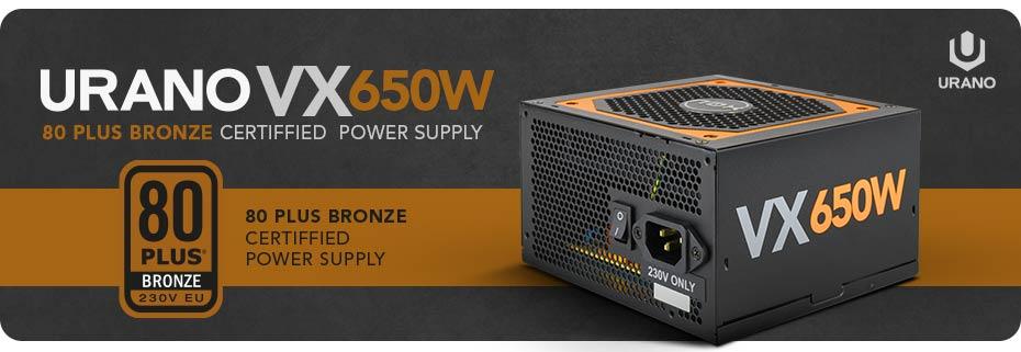 Urano VX 650W · Édition Bronze