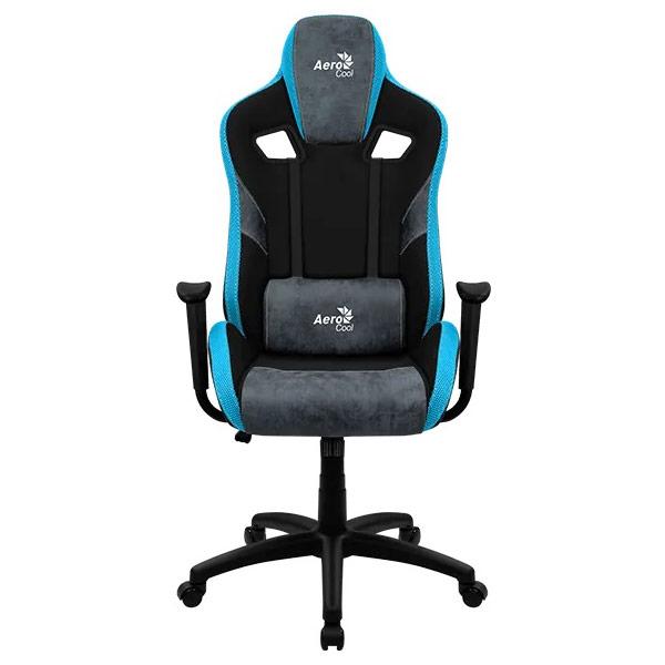 AeroCool COUNT Bleu gaming chair face 2