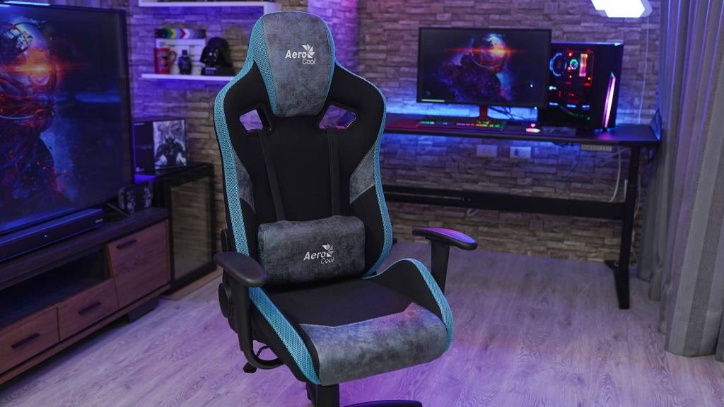 AeroCool COUNT Bleu gaming chair photo