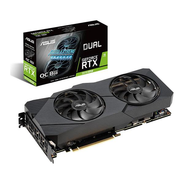 ASUS Dual GeForce RTX 2070 SUPER EVO OC face