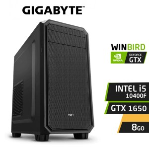 PC GAMER FREEBIRD F10 I5-10400F 8Go GTX 1650 SSD 120Go