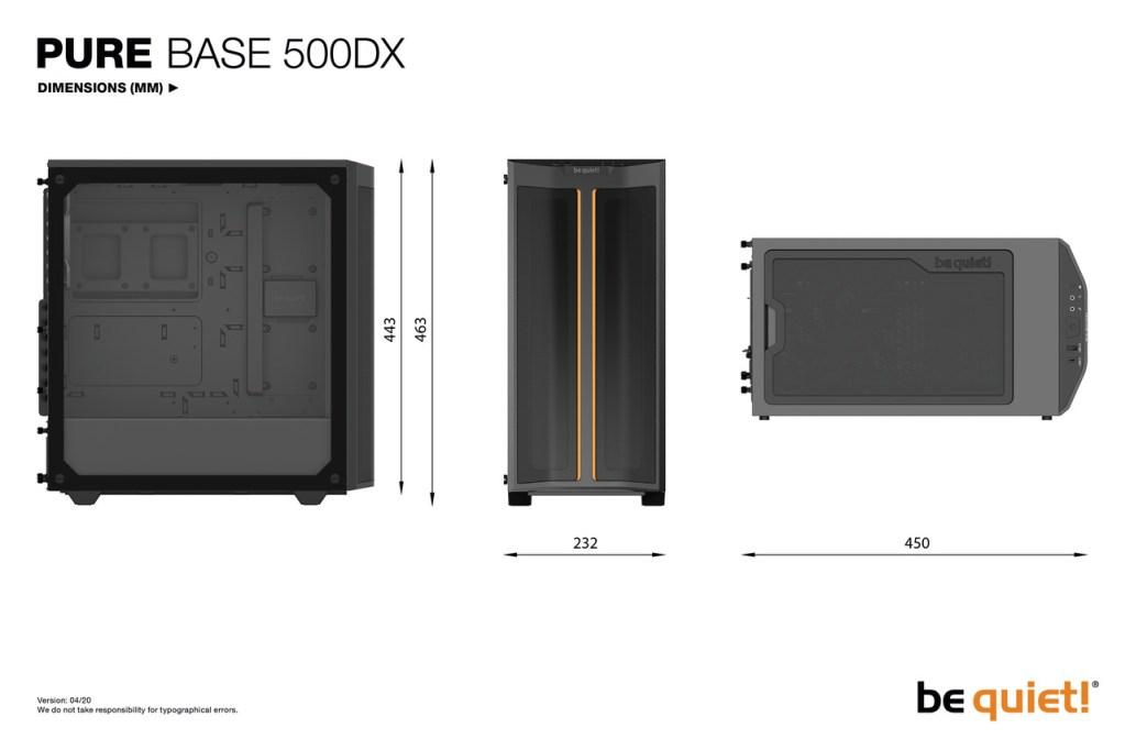 Be quiet! Pure Base 500DX (Noir)