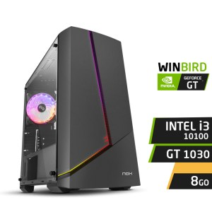 WINBIRD F10 I3-10100 8Go GT 1030 SSD 120Go