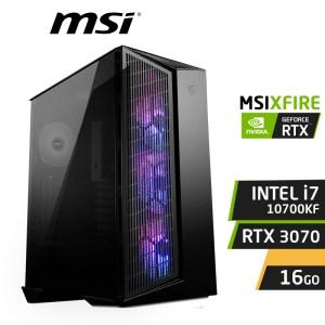 MSIXFIRE G10 INTEL i7-10700KF 16Go Nvidia RTX 3070