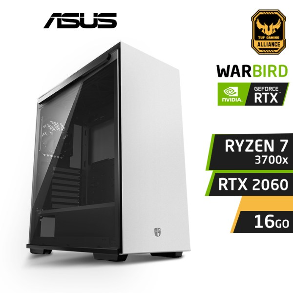 WARBIRD X7 Ryzen 7 3700X 16Go Nvidia RTX 2060