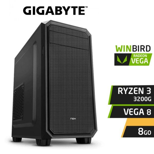 WINBIRD LITE RYZEN 3 3200G 8GB