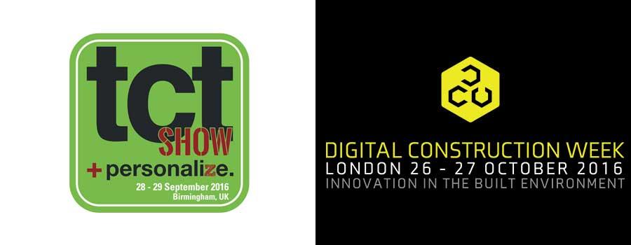 TCT Digital Construction Week Header