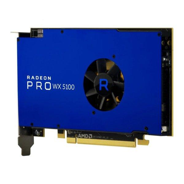 AMD Radeon Pro WX 5100 Front Rear