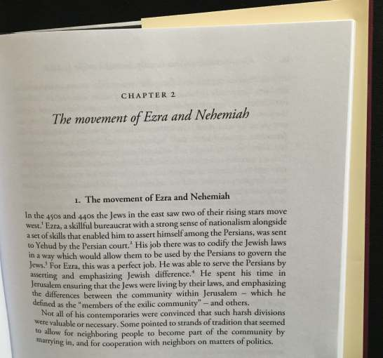 "The opening page of Chapter 2 of ""Esther in Ancient Jewish Thought"" by Aaron Koller, Cambridge University Press"
