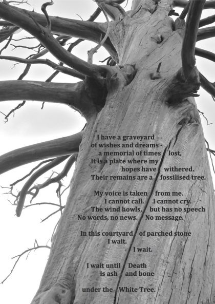 White Tree death resurrection poem