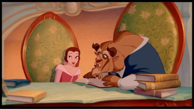 Beast starts to read 'Romeo and Juliet' with Belle - from the special edition release