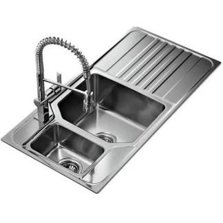 Inset-Sink-Teka-Premium-1.5B-St-Steel