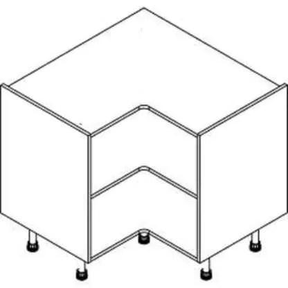 Kitchen-Cabinets-Corner-Base-Unit-900mm