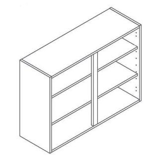 Kitchen Cabinets Tall Wall Unit 1000mm