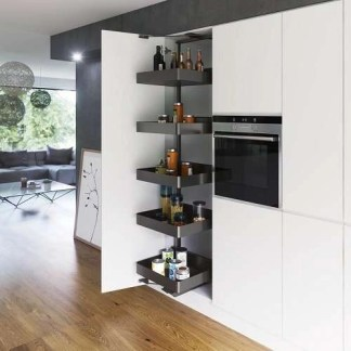 Swing Out Larder Storage Unit Cabinet Width 400mm