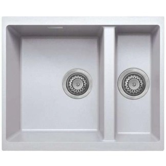 Undermount Kitchen Granite Sink 1.5B- White