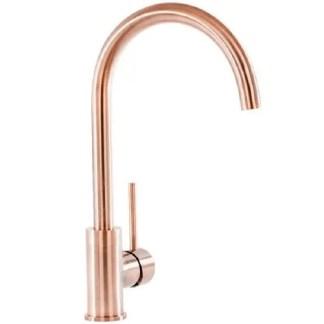 Prima-Swan-Neck-Single-Lever-Mixer-Tap-Copper