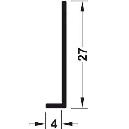 Edge Profile, for Alusplash™