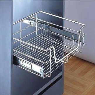 Pull Out Storage Basket, for Cabinet Width 300-1000 mm