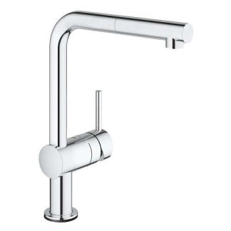 Mixer Tap Electronic Pull Out Spray Grohe Minta Touch