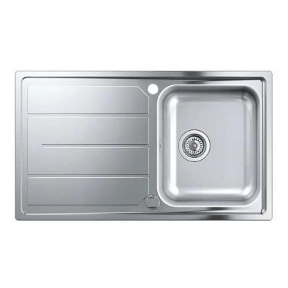 Stainless Steel Sink Single Bowl Grohe K500