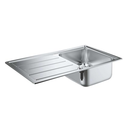 Stainless Steel Sink, Single Bowl Grohe K500