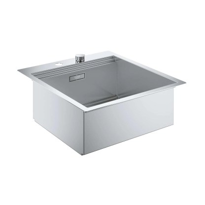 Stainless Steel Sink, Single Bowl Grohe K800 (2)