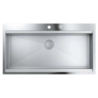 Stainless Steel Sink Single Bowl Grohe K800