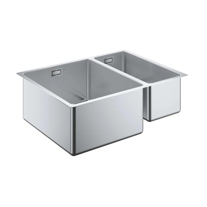 Stainless Steel Sink, Undermount 1.5 Bowl Grohe K700 L