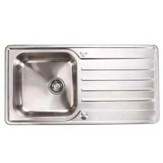 Stainless Steel Sink Single Bowl Häfele Abbey